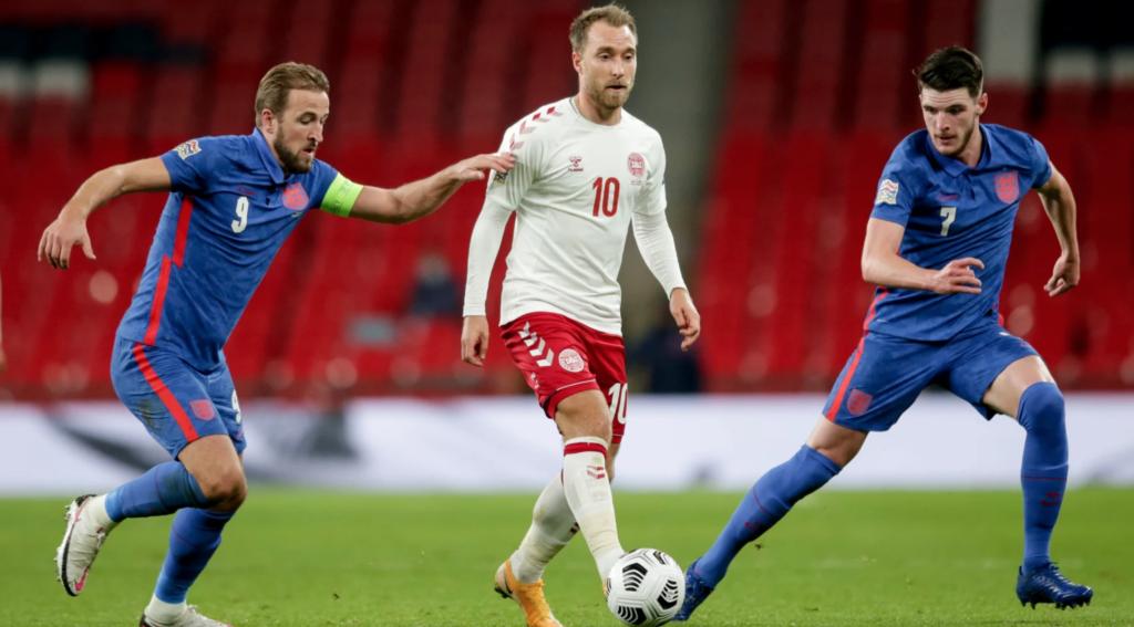Матч Англия — Дания: статистика личных встреч