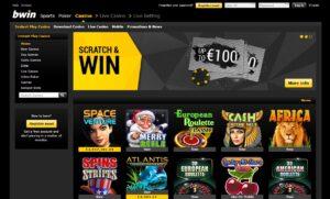 bwin casino официальный сайт