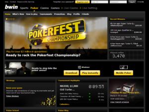 Bwin Poker официальный сайт